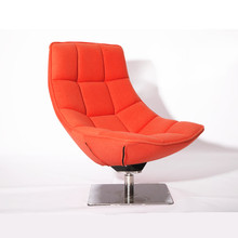 Markus Jehs and Jurgen Laub designed large armless lounge chair