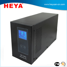 Single Phase 12v 220v pure sine wave 1.5kva Online UPS with internal batteries for office use
