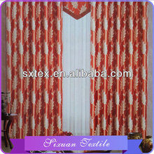 Famous brand for home-use fashion light color printing drapes