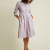 Fashion New Mid Long Sleeve Dotted Casual Plus Size shirt dress Plus Sze Clothing