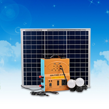 New design 500W off-grid Solar Power Generating System with Inverter using external battery