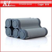 KingLi Portable Cell Phones Charger 10000mAh Cager Power Bank for Smartphones