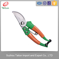Well-funded steel handle pruning shear