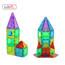MNTL 69-Pieces Magnet Toy Blocks Magnetic Building Tiles Education Toy
