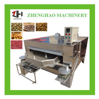 High quality coated peanut roasting machine / coated peanut roaster machine