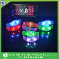 Good For Ourdoor Sport Silicone Flashing LED Wristband