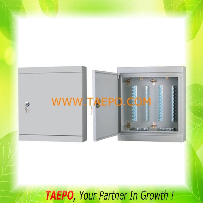 Indoor enclosure box 100 pairs metal connection box telephone distribution box for LSA module