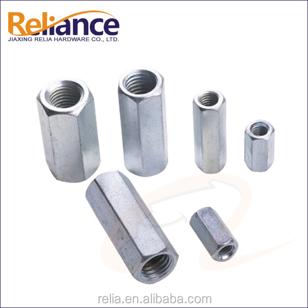 Long Hex Coupling Nut For Industrial Fasteners