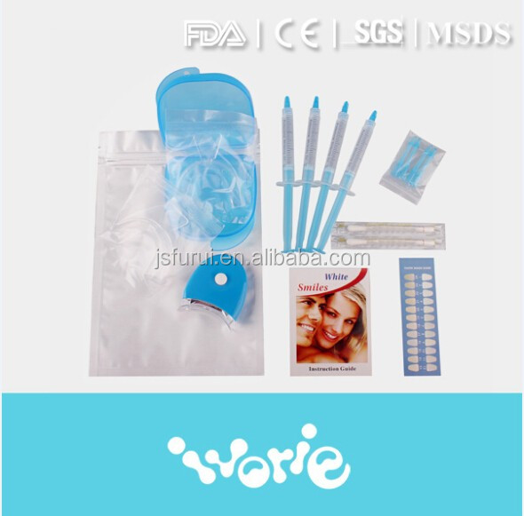 Bright white smiles home teeth whitening kit