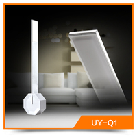Rechargeable battery operated dimmable study led table lamp