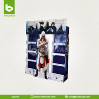 Cardboard Point Of Sale DVD/CD Display Stand