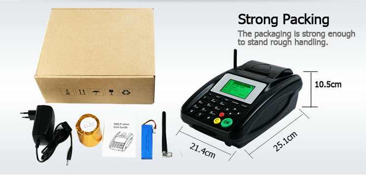 Cheap GPRS SMS Printer GT5000S for Mobile Airtime Topup