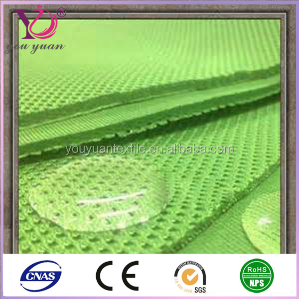 High tech ventilated 3d mesh fabric for baby buggy wholesale