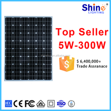 China manufacture mono solar panel 24V 250w 310W 320W photovoltaic solar module 320WP