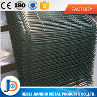 Galvanized welded wire mesh or pvc coated temporary fence panels hot sale