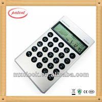 world time desktop calculator for promotional gifts