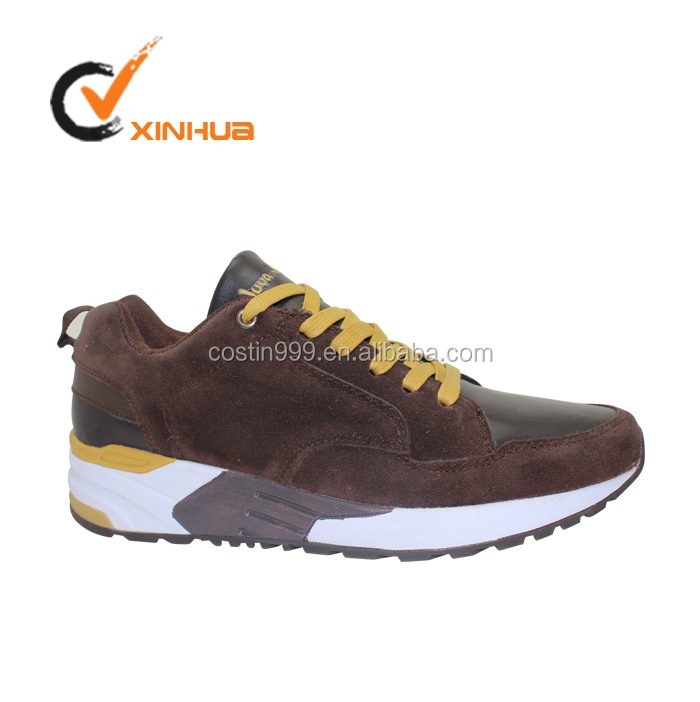 Classical New Fashion suede shoes men running shoes with suede upper