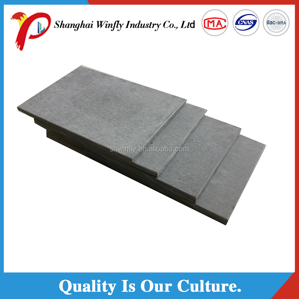 Waterproof No Toxic Fire Resistant Exterior Fiber Cement Facade Panels