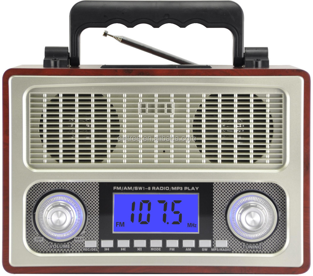 Turkey Middle East Market the biggest am kemai radio retro alarm clock radio