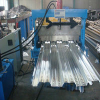 Floor Deck Roll Forming Machine Metal Sheet Making Machine Hydralic Press Machine