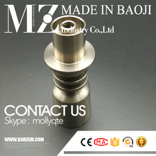 with 19mm female joint electric domeless titanium nail