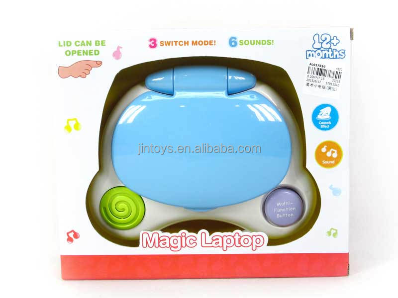 Kids plastic toys magic computer educational computer toys AL017810
