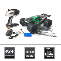 Latest arrival 1/12 2.4g big wheel remot control car drift