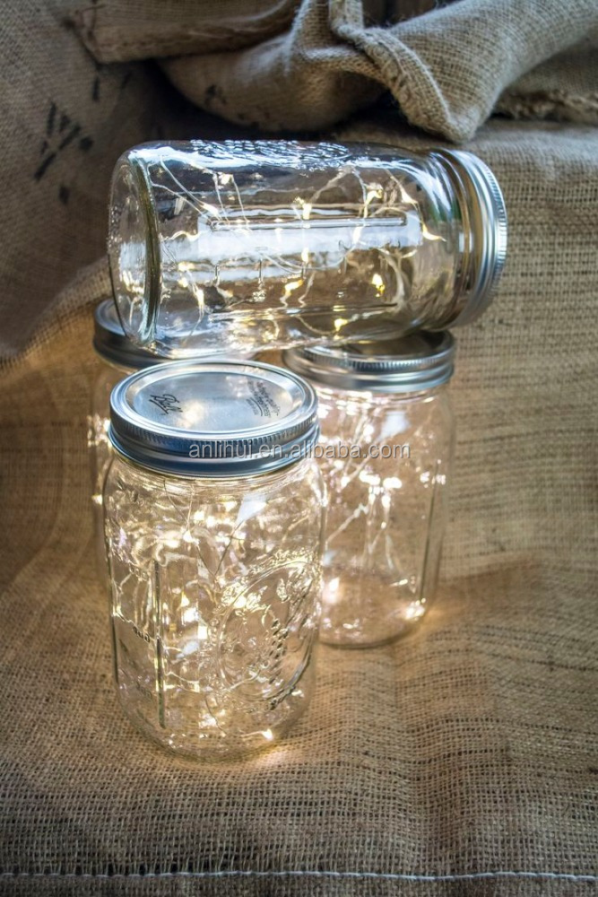 DIY fairy lights in mason jars to make your home more amazing led fairy light