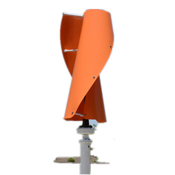 100-600W 12V 24V Helix Vertical Axis Wind Turbine Small Spiral Wind Generator VAWT