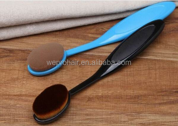 Professional Design Soft Touch Foundation Cosmetic Brush Toothbrush Make-up Brush Small Face Cleaning Brush