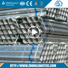 Chinese suppliers hs code hot dip galvanized iron steel pipe