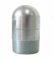 BULL PLUG CARBON STEEL ASTM A350 LF3 PIPE END PLUG with thread
