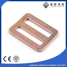 Factory manufacture best wholesale metal gold small Adjusters buckles