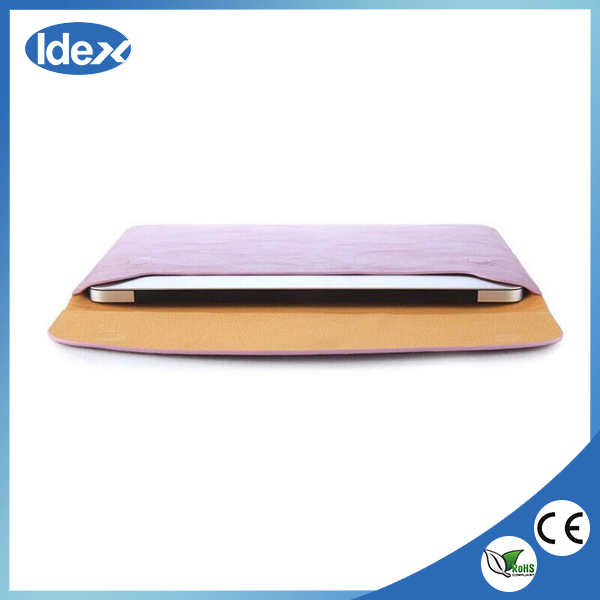Hot product leather case for 13 macbook air
