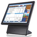 "Android 15"" capacitive touch screen pos system"