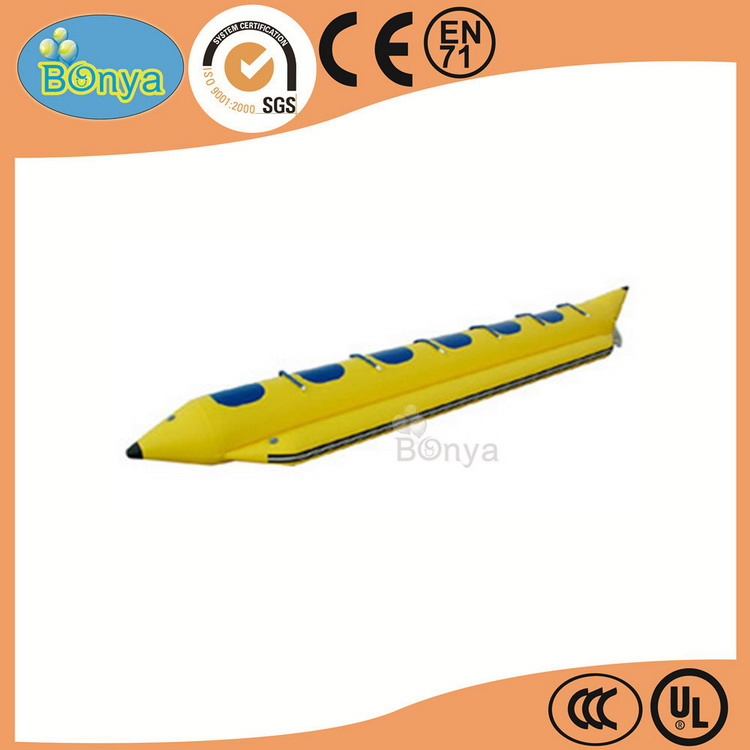Wholesale cheap attractive professional double pontoon inflatable banana boats