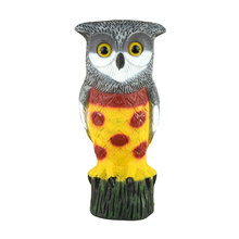 simulation plastic garden decorations owl decoy bunnings