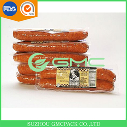 Food grade plastic water-retention nylon casing for sausage