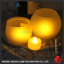 2016 High quality wholesale fashion solar flameless candle