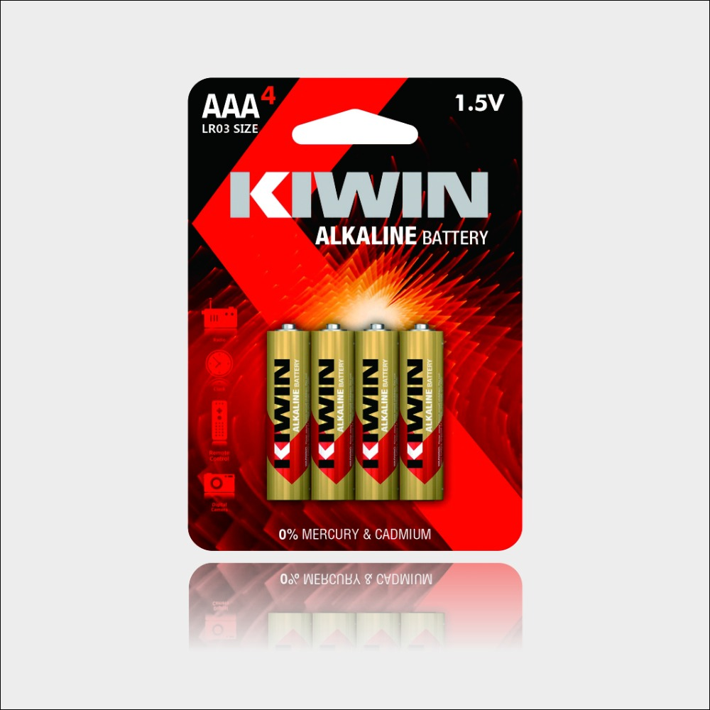 New product 1.5V Alcaline Battery Alkaline LR03 dry battery am-4 AAA