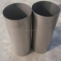 ASTM B338 / B337 Welding Titanium Pipe Gr5 / Gr7 / Gr9 For Petrochemical Industry