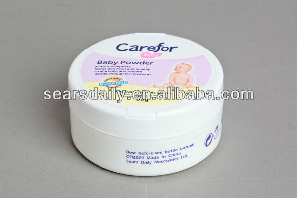 Baby Powder made from natural talcum powder