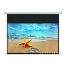 Reasonable Price OEM 6x6 retractable rear projection screen