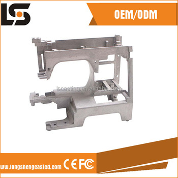 OEM design of die casting sewing machine part with good quality