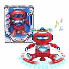 New battery operated dance toy robot for kids