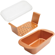 YME Perfect FDA approval copper bakeware baked loaf pan