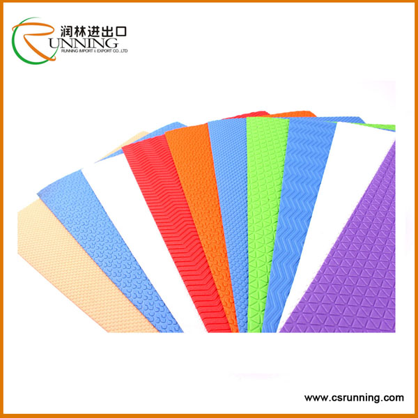 2mm Embossed eva foam rubber eva sheet