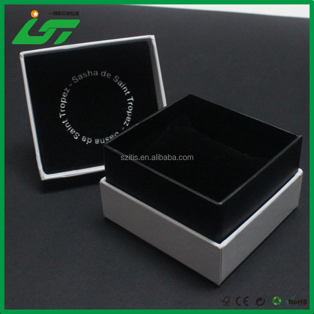 Luxury custom high quality jewelry membrane box packaging for watch package