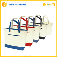 Hot Selling High Quality Cotton Blank Canvas Wholesale Tote Grocery Bag