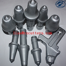 earth auger drill bits/conical cutting teeth for hard rock/earthworks industry tools/coal mining picks